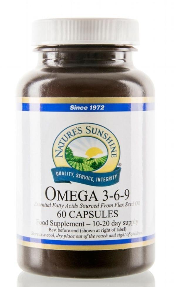 Nsp Supplements Omega 3 6 9